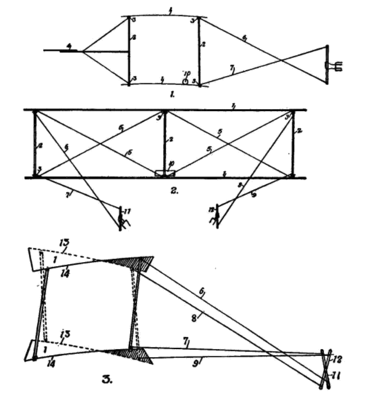 The Wrights patented their wing warping mechanism to control roll.