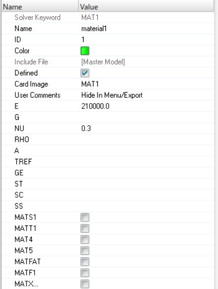 MAT1 - HyperWorks