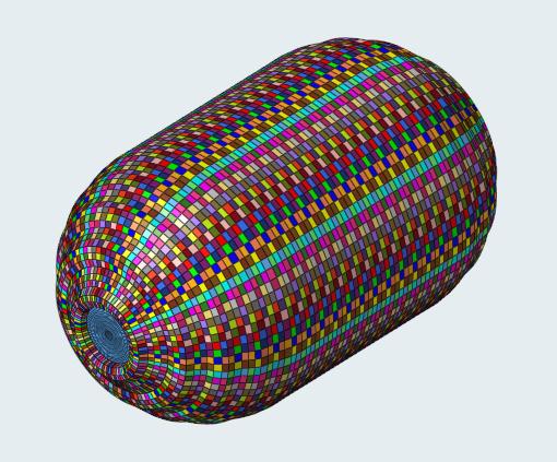 水素タンクの材料シミュレーション
