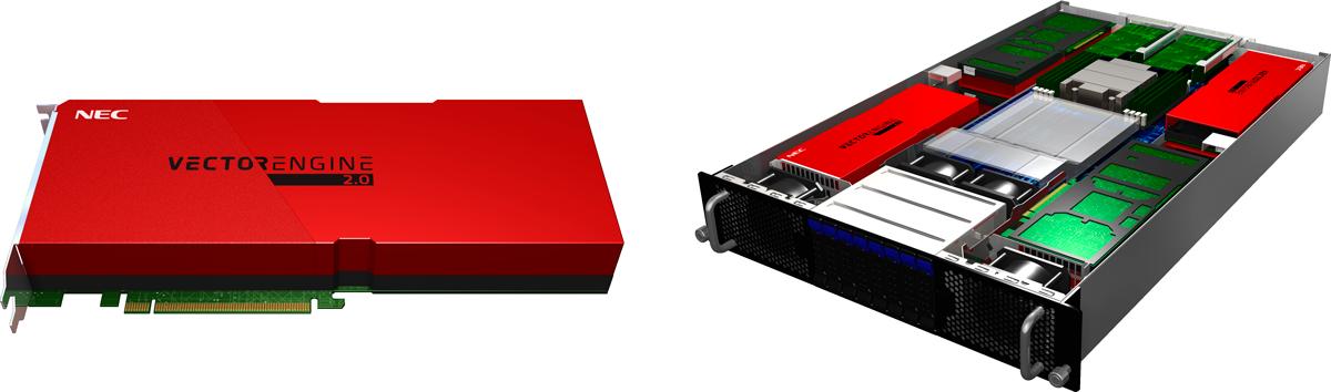 SX-Aurora TSUBASAのVector Engineプロセッサ