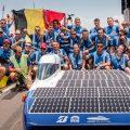 太陽の下で最速のBluePoint - ワールドソーラーチャレンジで優勝