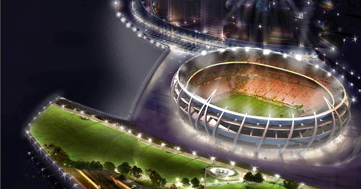 トポロジー最適化による最新のスタジアムデザイン
